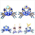 Lovely crab necklace earrings ring (UK size O) bracelet multiple choices