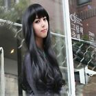 New Fashion Wigs Wavy Full Long Curly Hair Wig Cosplay Bangs Women's With Cap