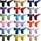 10/20/50/100 PCS New Satin Chair Sash & Table Runner Wedding Party Banquet Decor