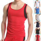 Durable Male Strong Sexy Men's Home Sports 6 Colors Underwear Tank Top IN S M L