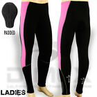 Ladies Cycling Tights Winter Thermel Long Pant Cycle Legging Trouser Padded Pink