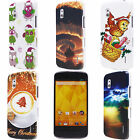 Coffee Cloud Owls Gift Christmas Hard PC Back Case Cover for Google Nexus 4 E960