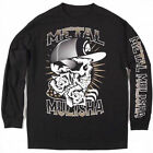 AUTHENTIC METAL MULISHA PROFILE L/S LONG SLEEVE DEEGAN SKULL T SHIRT MOTOCROSS