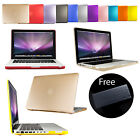 Frosted Matte Rubberized Hard Case Cover For Apple MacBook Pro Air 11' 13' 15'