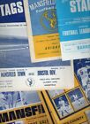 Mansfield Town HOME programmes mainly 1960's 1970's choose from list FREE UK P&P