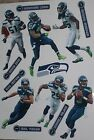 "Seattle Seahawks Mini FATHEAD Official NFL Vinyl Wall Graphic 7"" INCH - PICK ONE"