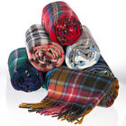 TARTAN SCARF CHOICE OF TARTANS PURE NEW 100% WOOL FOR KILTS SPORRANS ON SALE NOW
