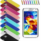 HARD RUBBER CASE COVER POUCH FOR VARIOUS SAMSUNG PHONES + STYLUS + SCREEN GUARD