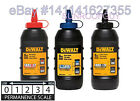 DeWALT Marking Chalk Refill 8oz Various Color - NEW