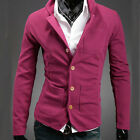 NEW Mens Casual Slim Fit Coats Suit Top Jackets Blazer Dress Blazers Size Boys A