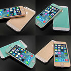 CASE-JM Gold/Mint screen Protector film skin cover for iPhone 5 5S Revised VER.