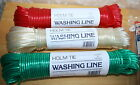 Washing Line, 10m, 20m or 30m length, made in England, great value