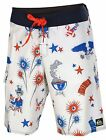 Quiksilver Men's Bust Up The Block Board Shorts-White