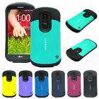 iA Jacket shock proof defender Slim Armor Dual Layer Protective Case for LG G2