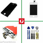 LCD Digitizer Glass Touch Screen Assembly Replacement fr iPhone 4 4s Black White