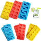 Silicone Ice Cube Tray Ice Jelly Making Moulds Party Funny Shape Make 2Pcs Pack