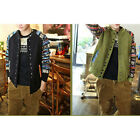 Fashion Crewneck Thick Cardigan Coat Casual Men's Button Down Baseball Sweater