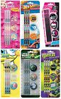 CHARACTER - Pencil & Eraser Set (Anker:Colouring/Stationery/Christmas Gift)