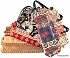 Turkish Textile handbag Ottoman/Kilim design - high quality hand crafted lined