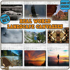 Real World Photo CANVAS ART PRINTS - Landscape River Forest Lake Outdoors Nature