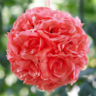"20 pcs 7"" Silk Open Roses KISSING BALLS Wedding Party FLOWERS Centerpieces SALE"