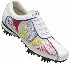 Ladies FootJoy Lopro Golf Shoes CLOSEOUT White/Graffiti 97054 New Womens