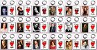 """I Love..."" Choose Your Fave Buffy The Vampire Slayer Character Keychain 18 Diff"