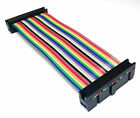 GPIO Ribbon Cable for Raspberry Pi - 10cm / 15cm / 30cm / 50cm (Rainbow/Grey)