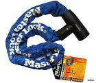 Bicycle Cycle Safety Chain Master Lock Mountain Road Bike Steel Padlock 2 Keys