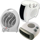 2000W-2kW PORTABLE FLOOR SILENT ELECTRIC FAN HEATER HOT COLD ADJUSTABLE THERMOST