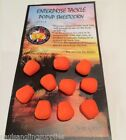 Enterprise Fluro Orange Popup Carp Fishing Artificial Imitation Fake Bait Corn