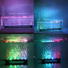 Color Changing LED Air Bubble Light Underwater Submersible Aquarium Fish Tank    фото