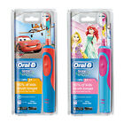 Oral-B Stages Power Kids Rechargeable Toothbrush Disney Princess & Cars Edition