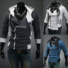 New Stylish Men's Handsome Slim Fit Hooded Classy Jackets Coats Hoodies Overcoat