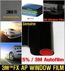 "3M/TM WIDE:20""/VLT5% Black Solar Film/Tint/Window/Glass/Normal/Privacy/Roll/UV"