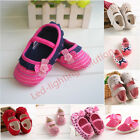 the cutest baby crib shoes size 0-18 months anti-slip fit girls infant so soft