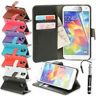 Madcase Premium Smooth Durable Leather Wallet Case cover for Samsung Galaxy S5