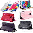 FLIP S-VIEW SREEN SMART LEATHER STAND CASE BATTERY COVER FOR SAMSUNG S5 i9600