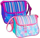 Insulated Lunch Bag Cooler Purse design Pretty n Nice Rear/ mesh inside pocket