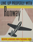 VINTAGE AVIATION print poster, large 4 sizes available, Airline 174