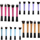 Multi Colours Multi Shaped Top Comestic Kabuki Brush Foundation Makeup Brush