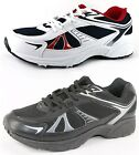 NEW MENS TRAINERS TRAINING SHOES BLACK WHITE LACE UPS SIZE UK 6 - 13 EU 39-48.5