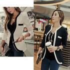 Fashion New Womens Ladies Leisure Casual Slim Suit Coat Blazer Jacket Outerwear