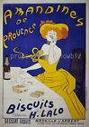 vintage French print poster, large 4 sizes available, France 6
