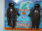 JEWEL BAIT CO. FOOTBALL JIGS, TWIN PACK, 1oz, CHOICE OF COLORS