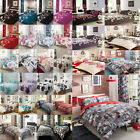 Duvet Cover With Pillow Case Bedding Set Quilt Cover Single Double King New 4501