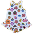 Claesen's Baby Girls Flower Print Cotton Onesie Dress 6M, 12M $32 NWT