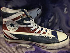 NEW CONVERSE ALL STAR CHUCK TAYLOR RED WHITE BLUE UK FLAG HI MEN SHOES 138449C