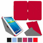 rooCASE Origami Slim Shell Stand Cover Case for Galaxy Tab 3 / 4 / Tab Pro