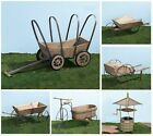 """ONE (1) ~WESTERN STYLE WOODEN PLANTER YARD DECOR~ 24"""" - 36"""" ~YOUR CHOICE~ NEW!"""